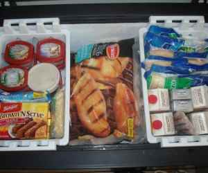Freezer Stockpile Organization