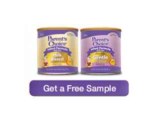 Obtain Free Samples of Parent's Choice Powdered Baby Formula