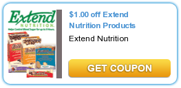 Printable Manufacturer Coupon: Save $1/1 Extend Nutrition Products