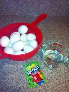 Use Kool-Aid to Dye Easter Eggs