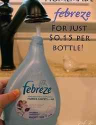 Make Your Own Febreze