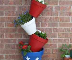 Tipsy Pot Planter