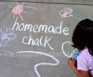 How to Make Homemade Chalk