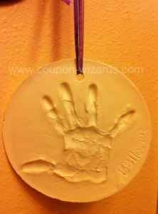 Handprint Keepsake