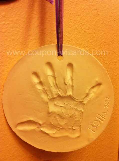 Plaster Mold of Your Child's Handprint DIY * Coupon-Wizards