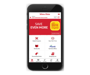 Winn Dixie App e coupons