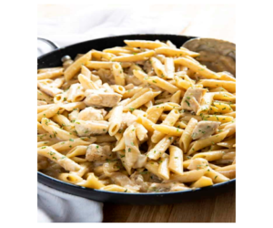 French Onion Chicken & Pasta