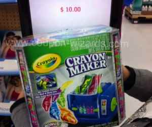 Wow! Crayola Crayon Maker for $7.00 at Walmart (after rebate)