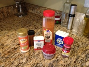 Homemade Taco Seasoning for any occasion