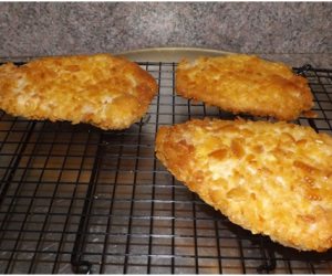 What's For Dinner- Cracker Breaded Pork Tenderloin