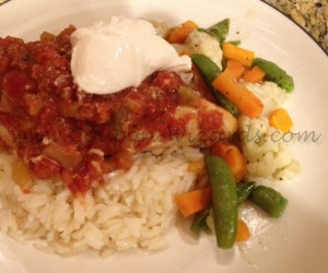 """What's for Dinner"" – Slow Cooker Chicken Salsa"