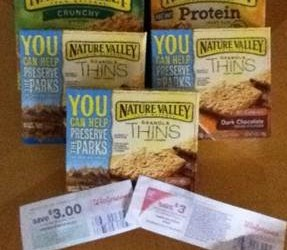 Unadvertised Walgreens Deal on Nature Valley; Get $6 Back + Points!