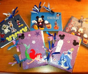Make Your Own Disney Autograph Books