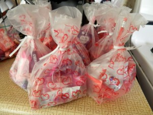 Valentine Party Goodie Bags