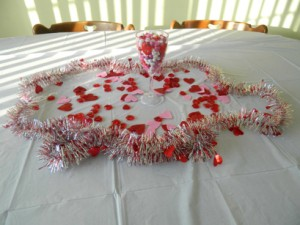 Kids Valentines Party decorations