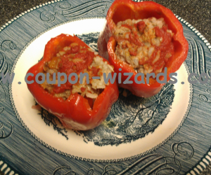 Stuffed Bell Peppers In The Crockpot
