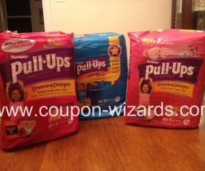 CVS Trip for Pull-Ups with 85% Savings!