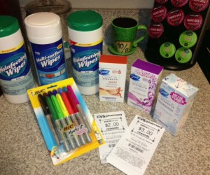 Coupon Stacking at CVS Shopping Trip