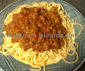 Spaghetti Sauce Slow Cooked In The Crock Pot