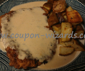 Homemade Country Fried Steak And Gravy