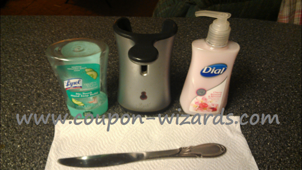 Refill Your Lysol No Touch Hand Soap Dispensers