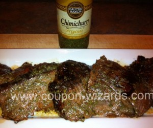Grilled Chimichurri Flank Steak