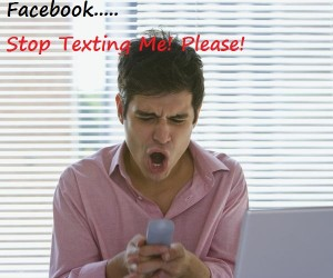 How To Shut Off Facebook Text Notifications