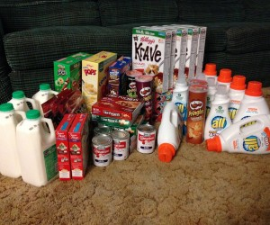 Kroger Mega Sale Shopping Trip-Savings of 53%!!