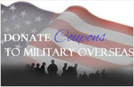 Donate Your Expired Coupons to Our Military Troops Overseas