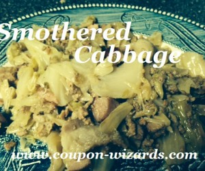 Smothered Cabbage In The Crock Pot