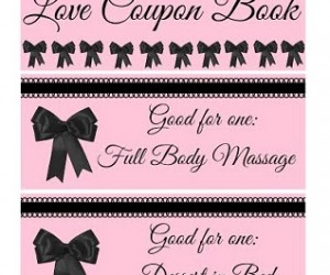Valentine's Day – Love Coupon Book
