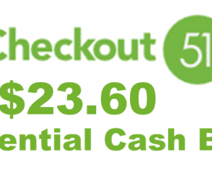 Earn Cash Back – $23.60 this Week with Checkout 51