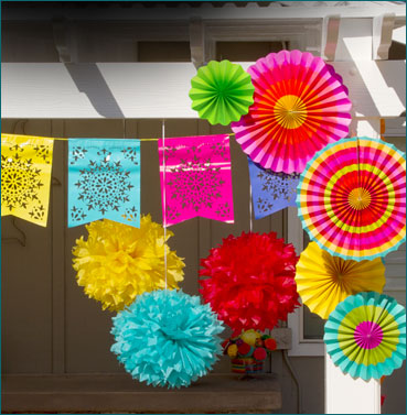 Decorations For Your Cinco De Mayo Party Are Pretty Simple As Well If You Can Pinch And Cut Paper Make Traditional Mexican