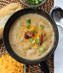 Crock Pot Potato Soup – Perfect for a Fall Day