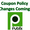 New Publix Coupon Policy