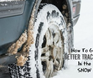 How to Get Better Traction in the Snow