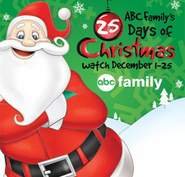 ABC Family 25 Days of Christmas Lineup 2014