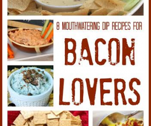 Bacon Lovers - 8 Dips