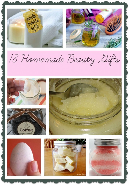Homemade Beauty Gifts - 18