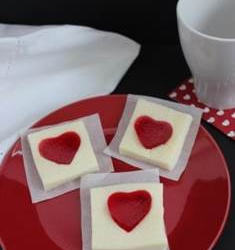 Jell-O Hearts Made from the Heart!