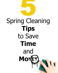 Spring Cleaning Tips – 5 Time And Money Saving Ones