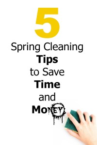Spring Cleaning Tips - 5 Time And Money Saving Ones