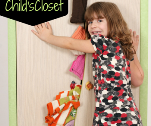 Tips on Organizing a Child's Closet