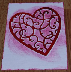 Handmade Valentine's Day Card 4