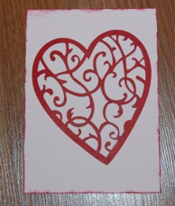 Handmade Valentine's Day Card 3