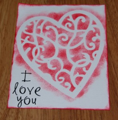 Handmade Valentine's Day Card 5