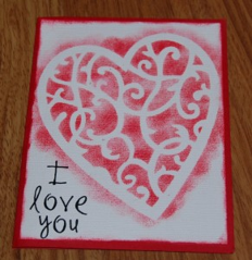Handmade Valentine's Day Card 6