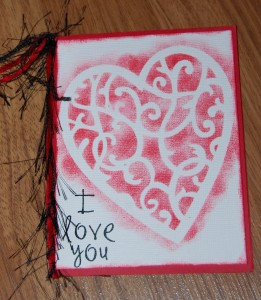Handmade Valentine's Day Card for your Sweetheart