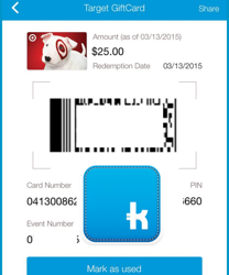 Shopkick Kicks – Easiest $25 Target Gift Card I've Ever Earned!