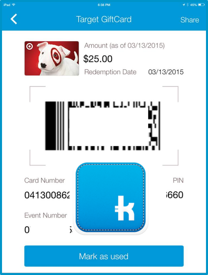 Shopkick Kicks - Easiest $25 Target Gift Card I've Ever Earned! -